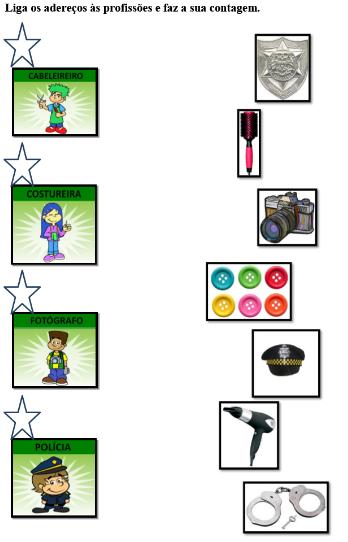 Atividades para pré-escolar diversas