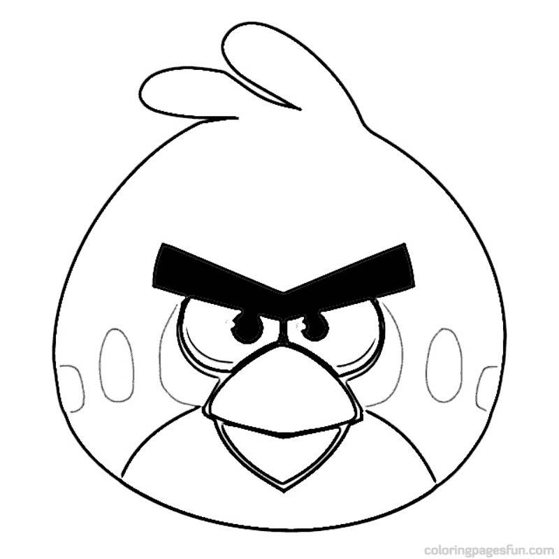 Coloring Pages Of Angry Birds Go Desenhos Para Pintar Educao