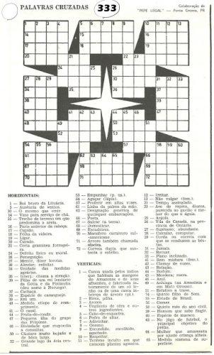 Palavras cruzadas para imprimir 9