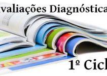 avaliações diagnósticas para o 1º ciclo