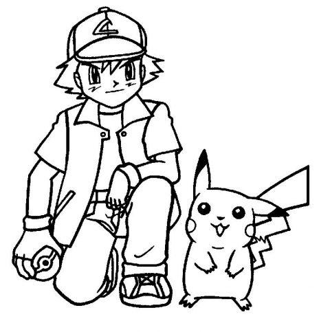 Desenhos do pikachu para imprimir e colorir educa o online - Coloriage de pikachu ...