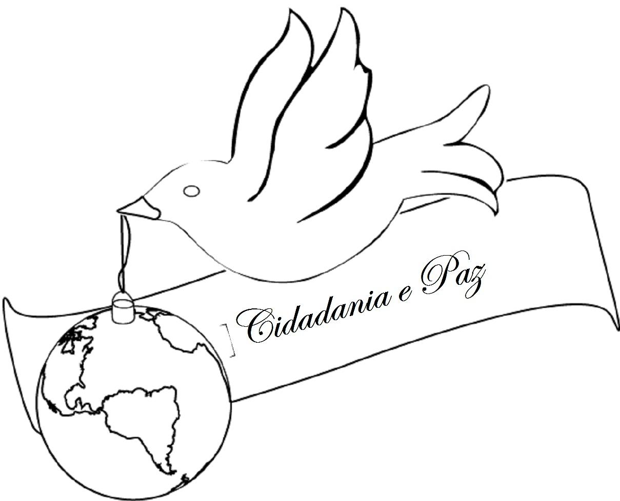 imagens de pombas para imprimir e colorir educação online