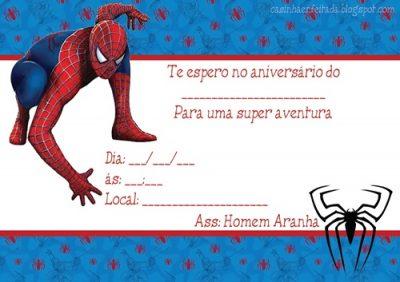 O seu filho adora o Homem aranha Faça-lhe uma festa Homem Aranha