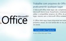 Office Web Apps em Português