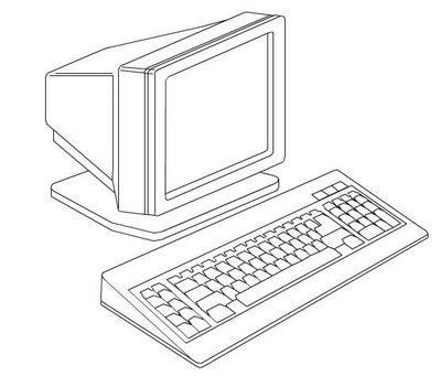 Computadores para colorir