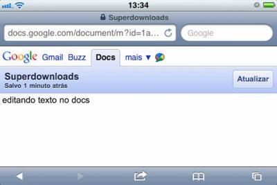 Google Docs em Português