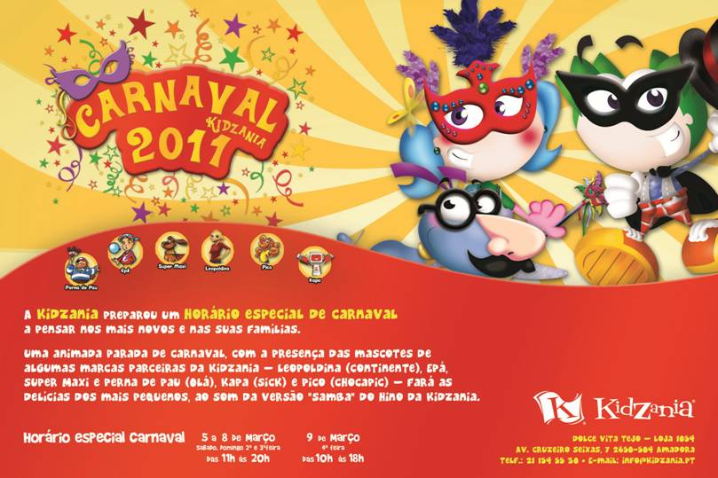 Carnaval na Kidzania
