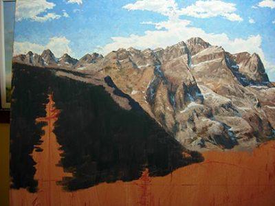 Imagens de montanhas para colorir
