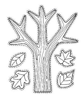 Imagens de folhas para imprimir e colorir