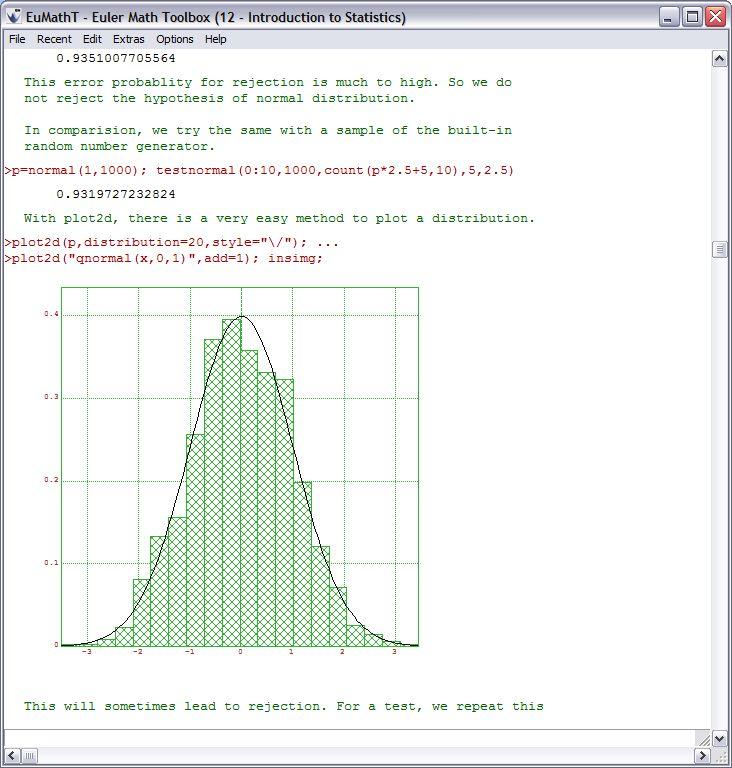 Euler Math Toolbox 12.1