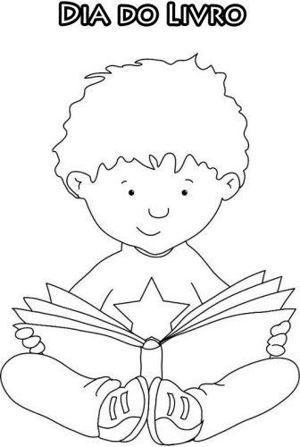 Imagens de livros para colorir