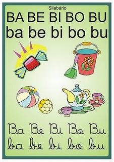Aprender as sílabas com ilustrações