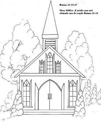 Imagens De Igrejas Para Imprimir E Colorir 4 Fichas E Atividades