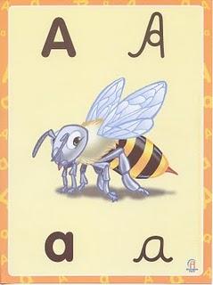Cartas para aprender o alfabeto