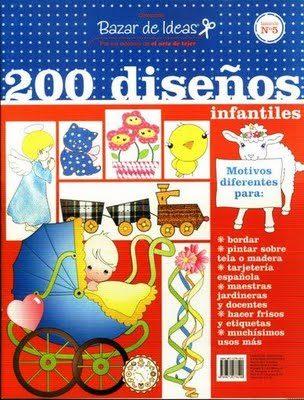 Revista com 200 imagens para colorir