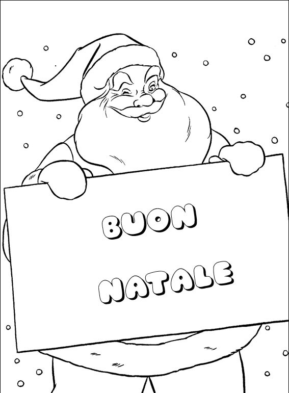 imagens de Natal para imprimir e colorir