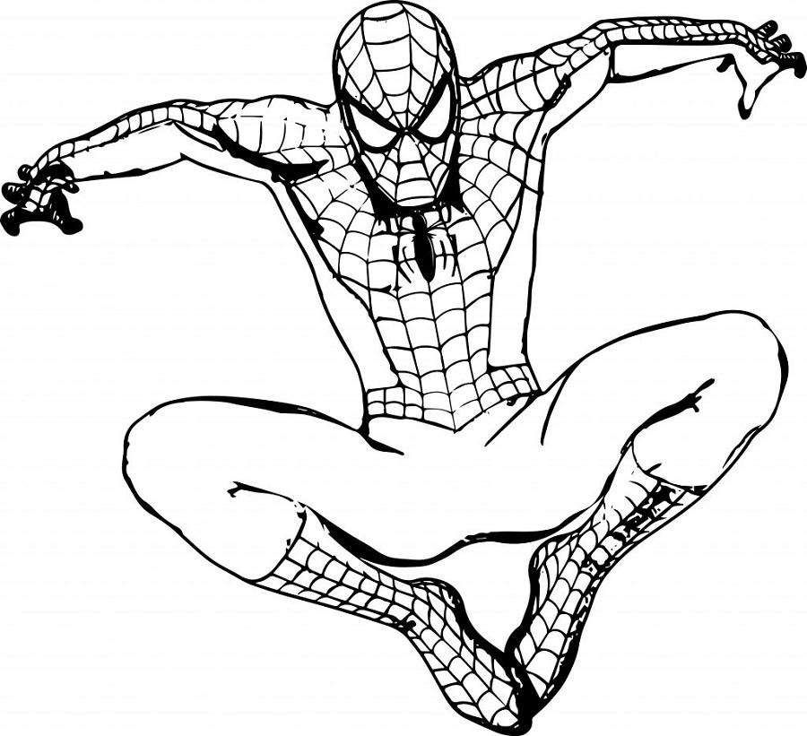 Desenhos Do Homem Aranha Para Imprimir E Colorir 10