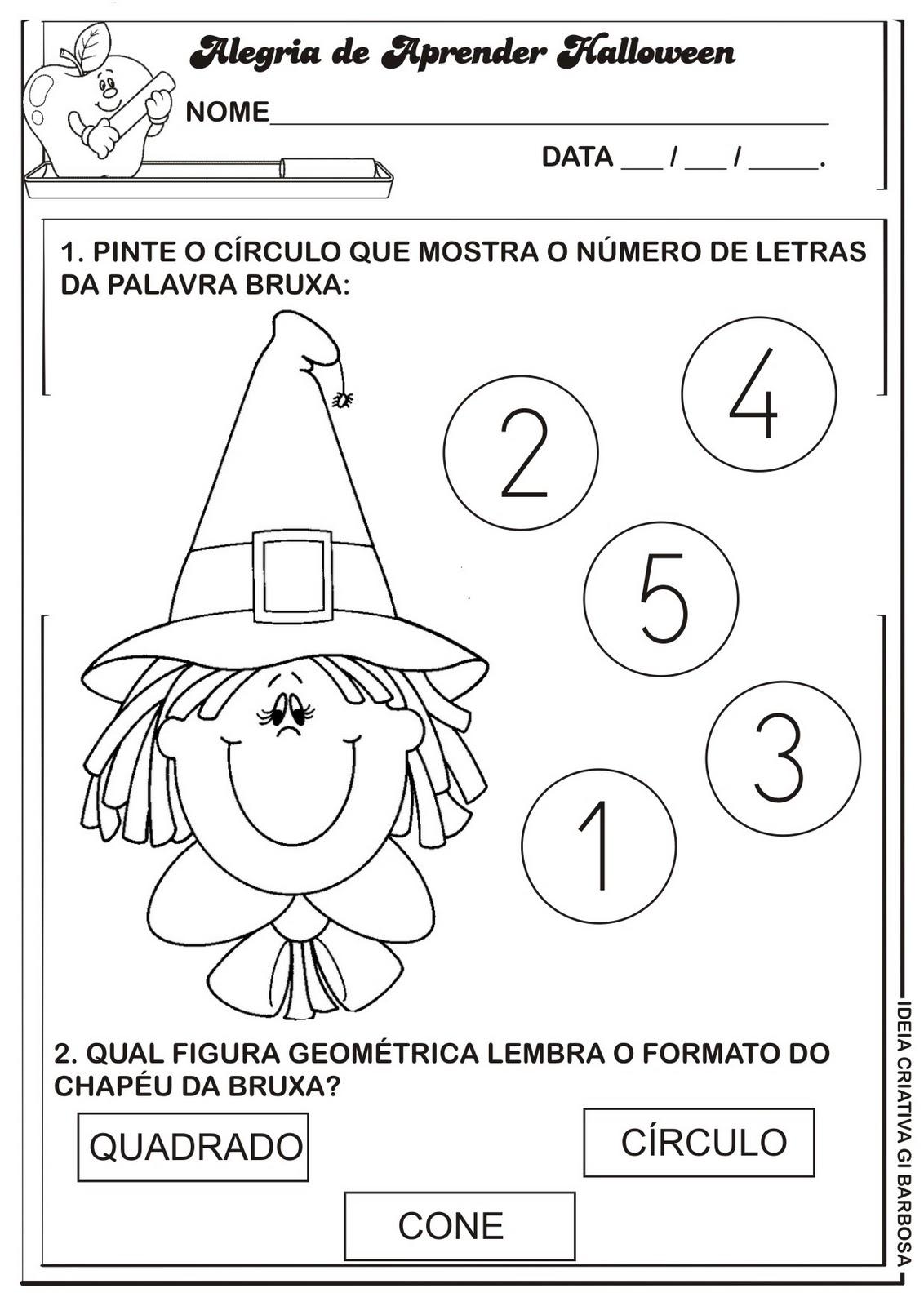 Halloween e matemática 1