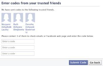 Recuparar acesso ao facebook