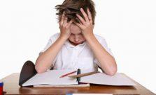 Crianças com dificuldades na aprendizagem