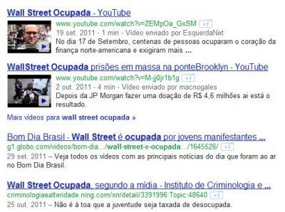 Google melhora busca na web