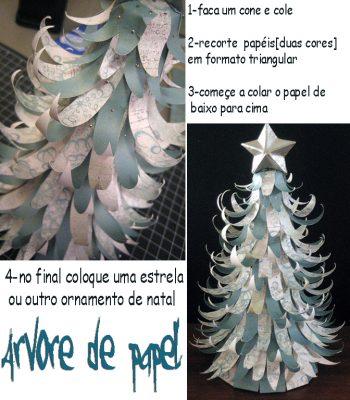 Molde 2 de árvore de Natal