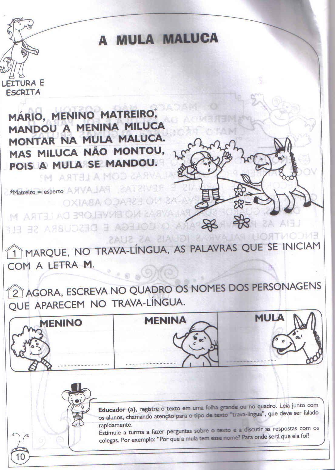 Actividades de Português para o 1 ciclo - 1