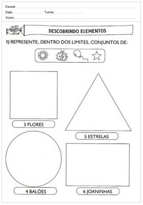 Actividades de matemática para o 1º ciclo