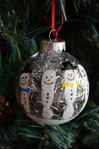 Bola de Natal personalizada para árvore de Natal