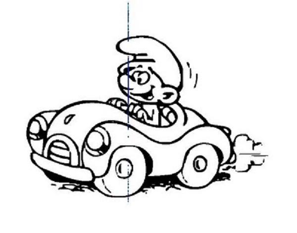 Desenhos Dos Smurfs Para Colorir 3