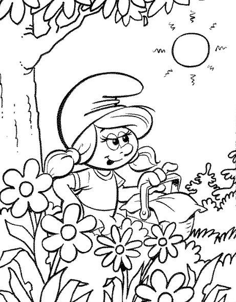 Desenhos Dos Smurfs Para Colorir 9 Fichas E Atividades