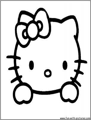 Imagens da Hello Kitty para imprimir colorir