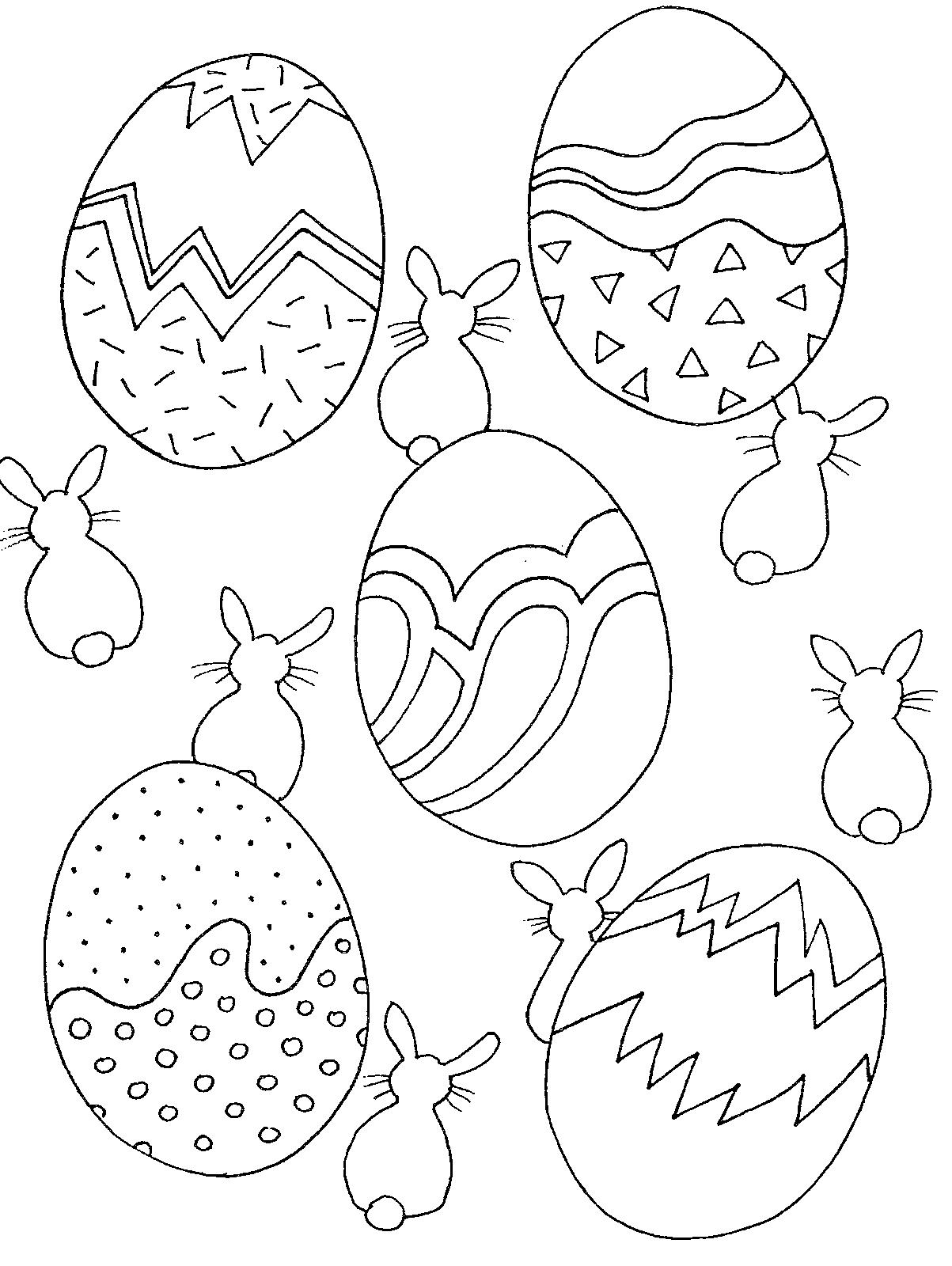 Desenho Para Imprimir E Colorir Pascoa Ovos Proessora Coruja