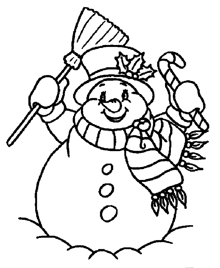 Imagens de bonecos de neve para