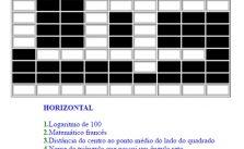 Aprenda matemática a jogar palavras cruzadas