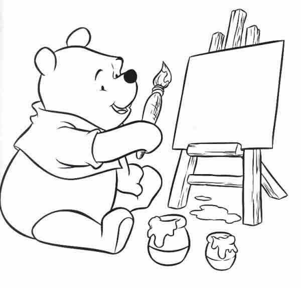 Imagens Da Disney Para Imprimir E Colorir Ursinho Pooh 10