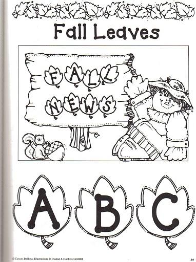 alfabeto folhas 1