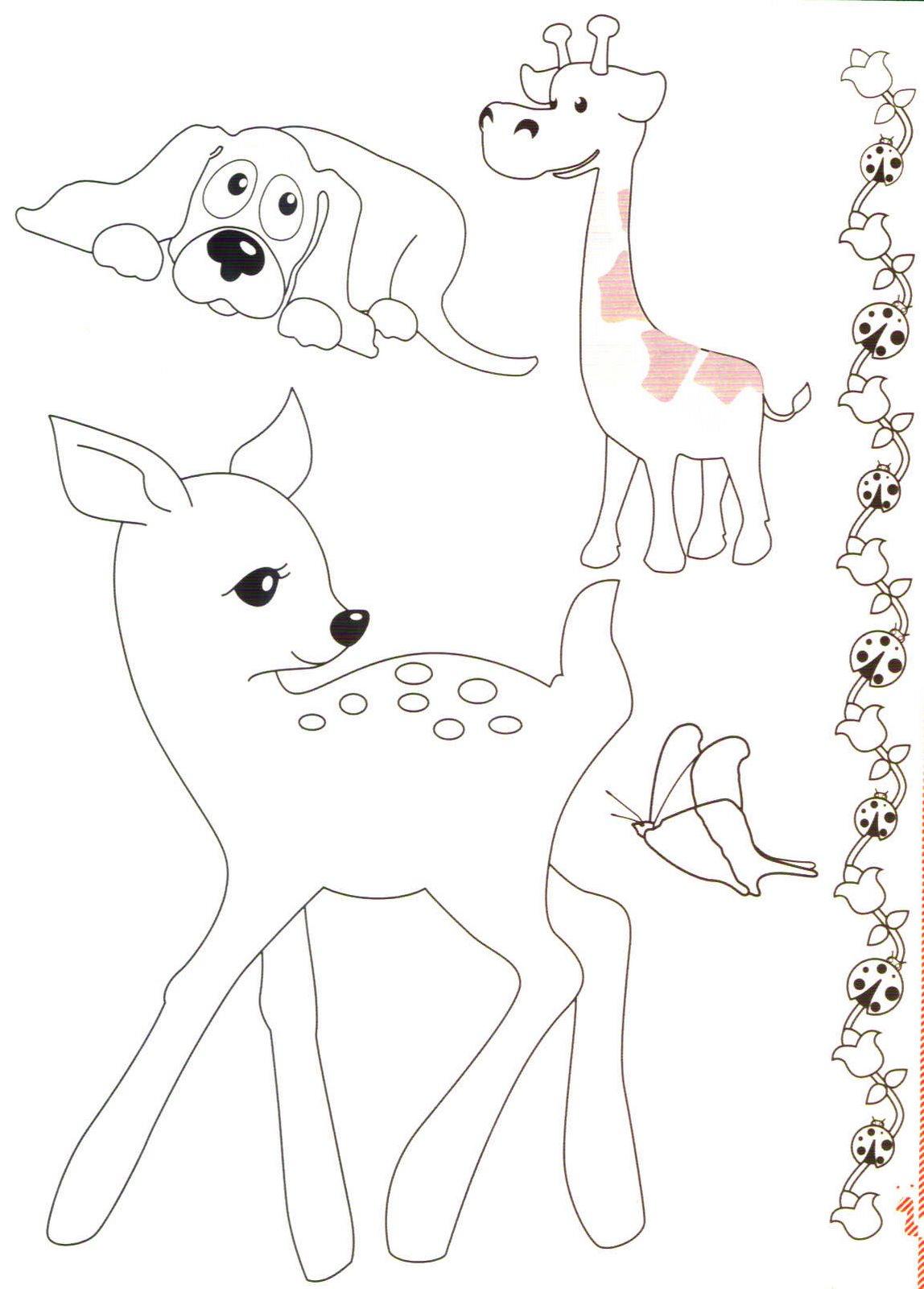 Desenhos e imagens para colorir