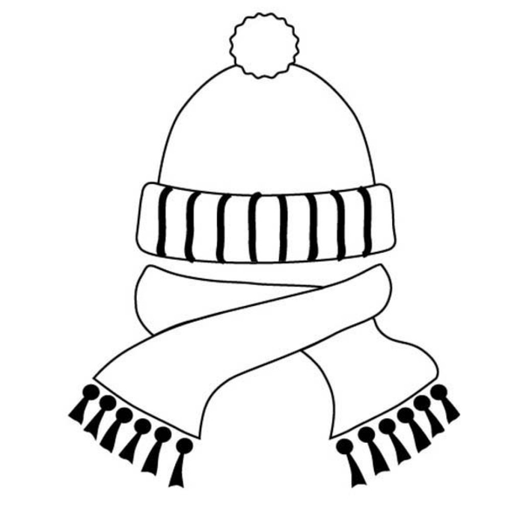Free Coloring Pages Winter Hats Top Hat Coloring Page Free Winter Coloring Pages With Hats In