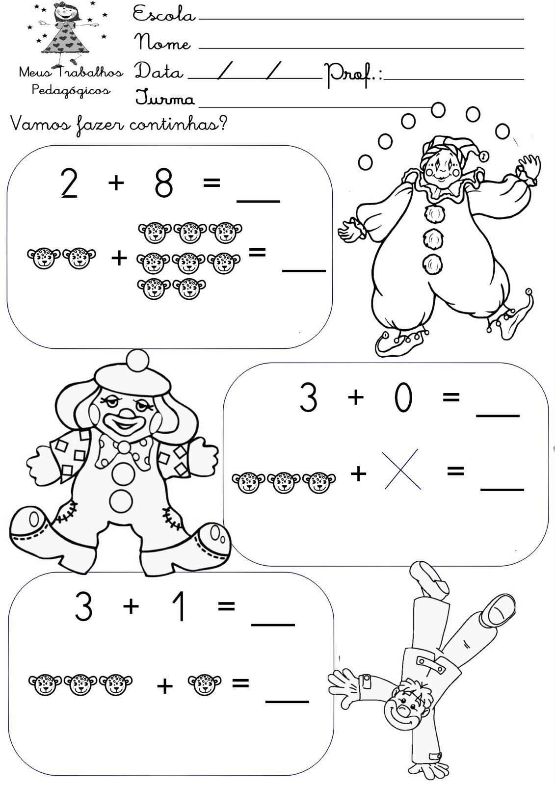 Circo Dos Números Iniciação á Matemática Para Crianças 10