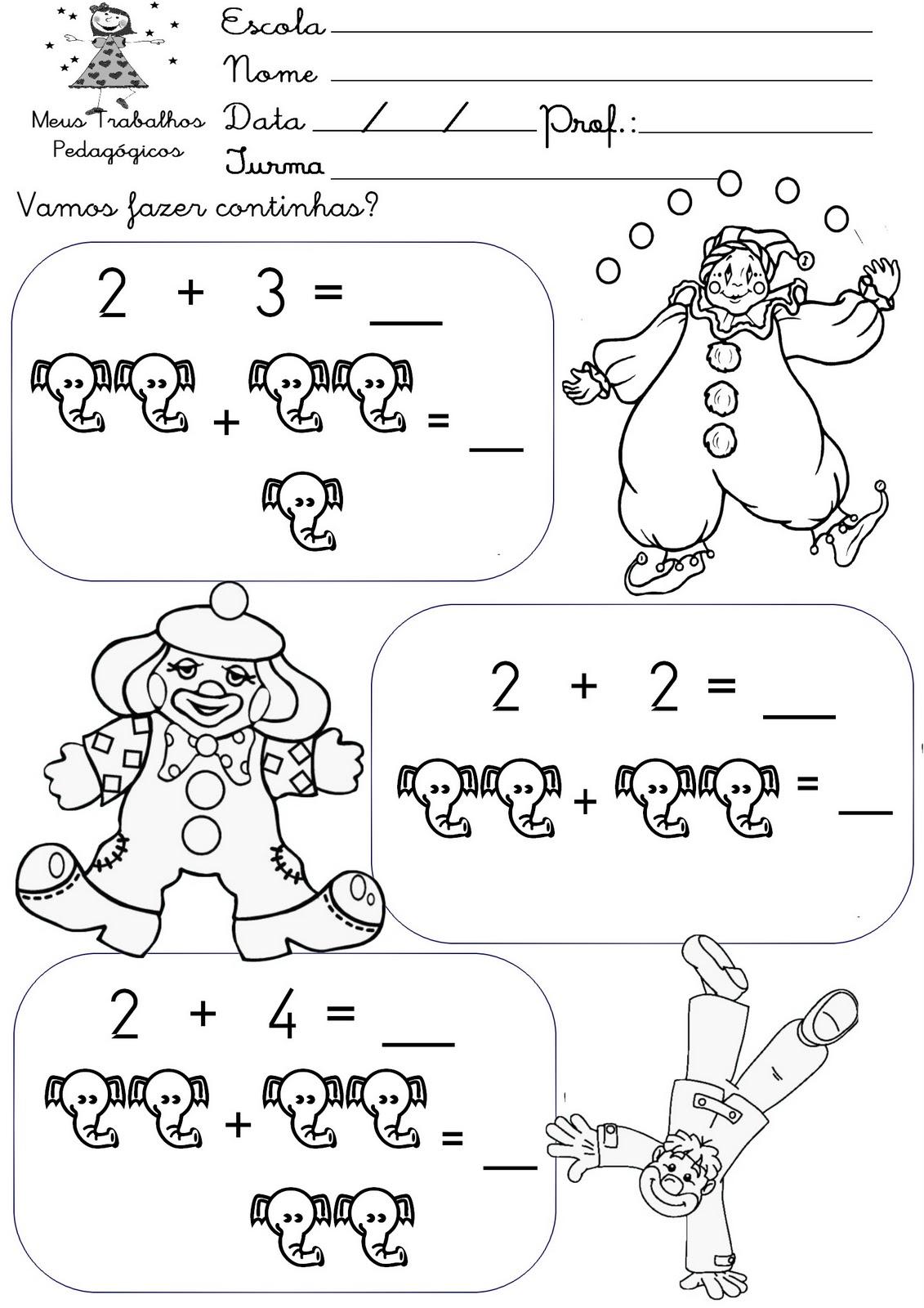 Preferência Circo dos números – Iniciação á matemática para crianças - 8  GV61