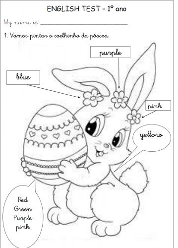 Actividades de inglês para a Páscoa - 10