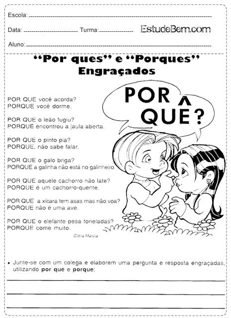 Atividade Portugues 4 Ano Para Imprimir 3 Fichas E Atividades