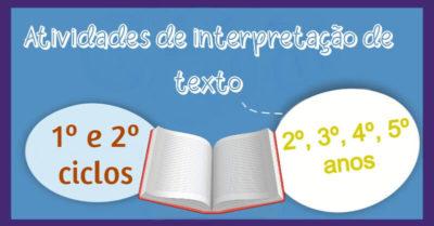 Atividades de interpretação de texto