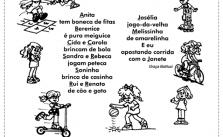 Atividades de português para o 4° ano do 1º ciclo 9