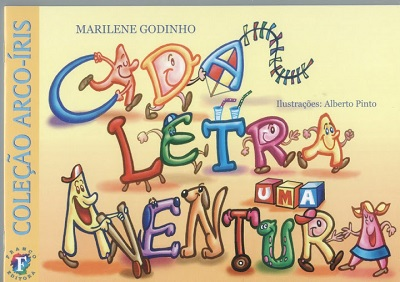 Livro cada letra uma aventura