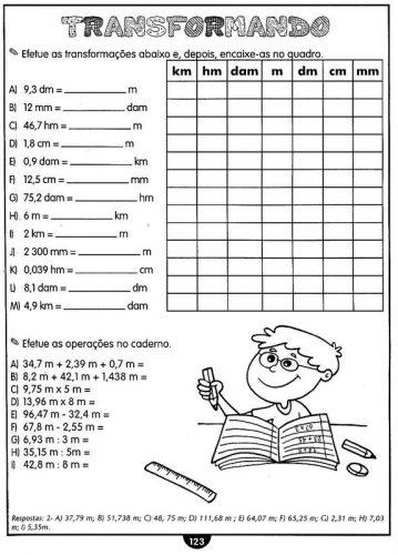 Matemática 5° ano Atividades imprimir (249)