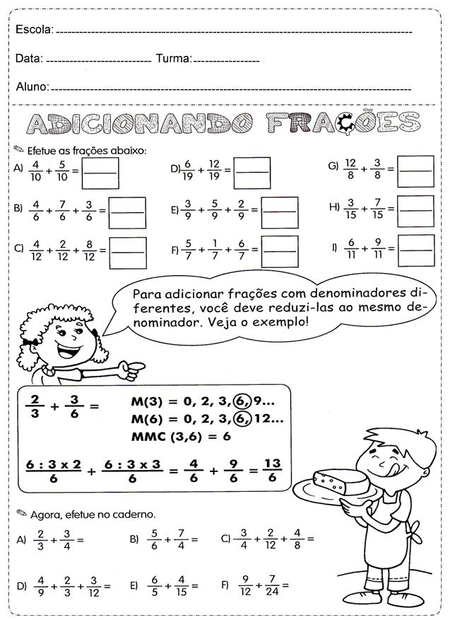 atividades de matemática 2º ano