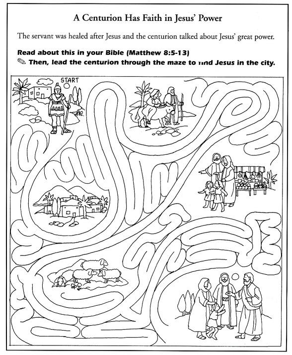 Atividades em Inglês de Jesus