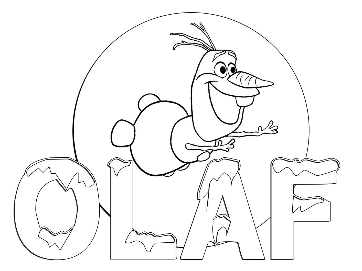 Desenhos Para Colorir Frozen Educacao Online